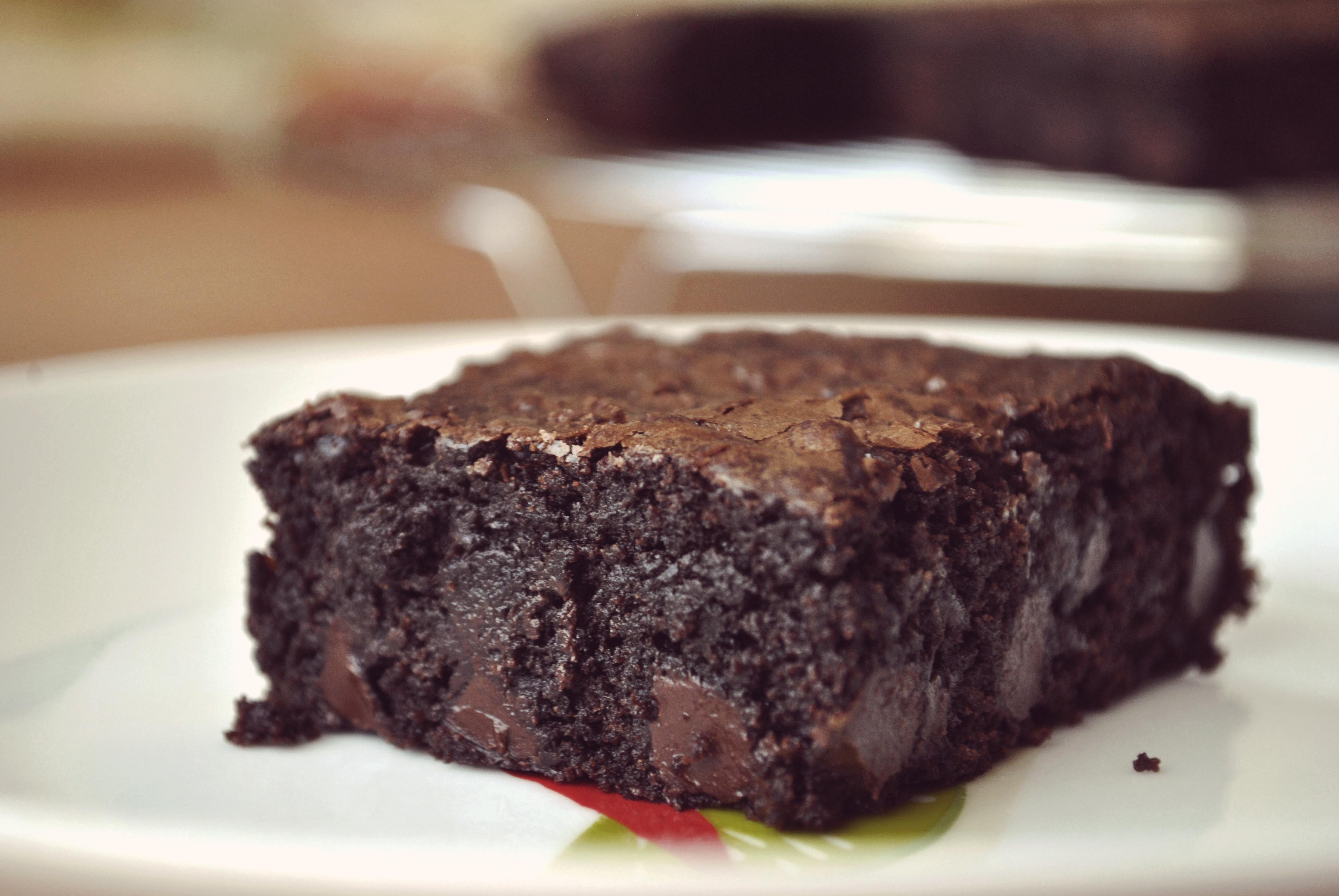 Cocoa Brownies Recipe — Dishmaps