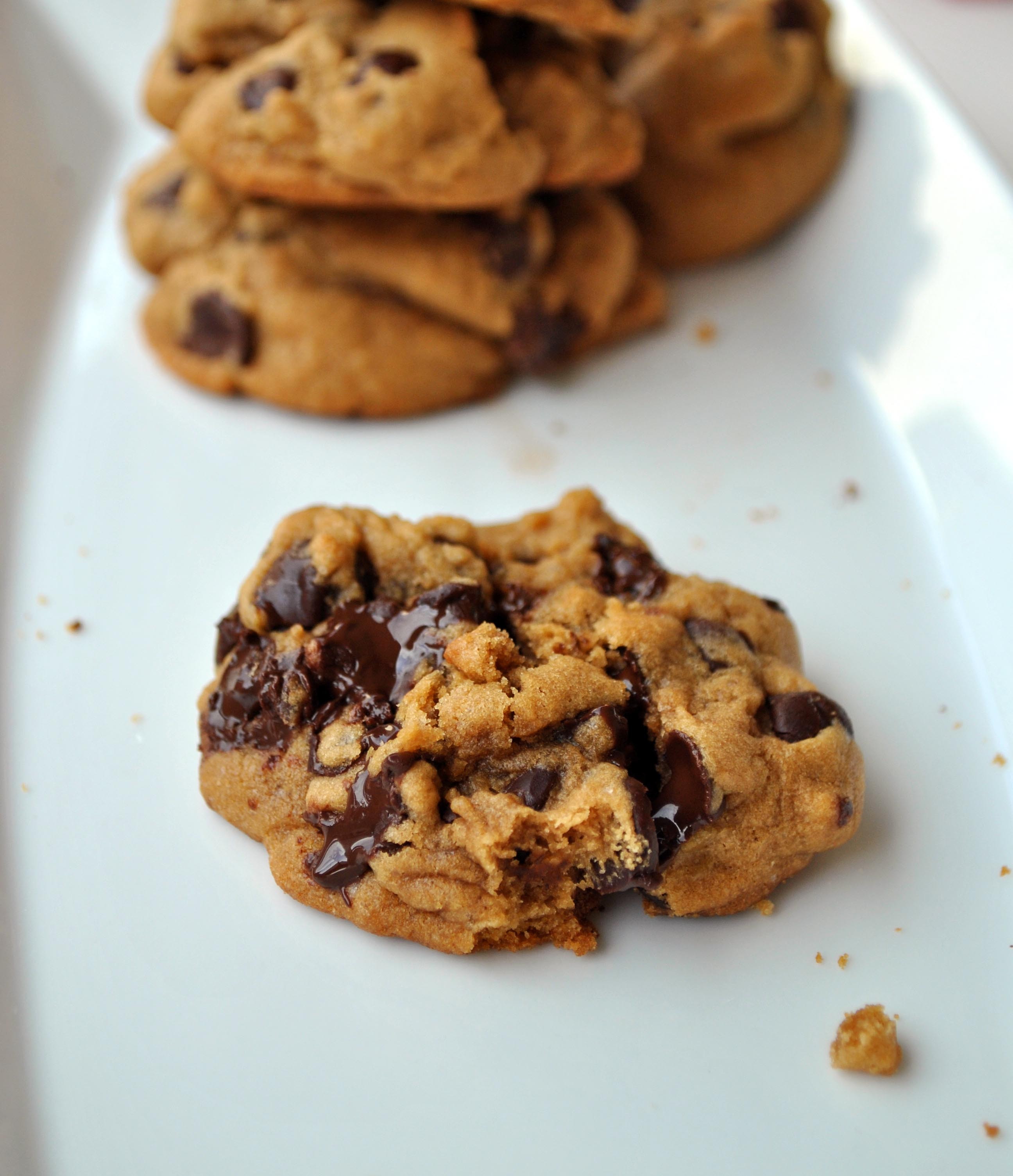 Thick and Chewy Chocolate Chip Cookies   Brownie Box