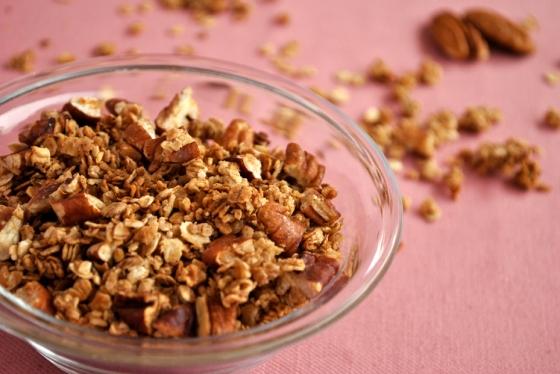 cinnamon-pecan granola | Browniebox_4
