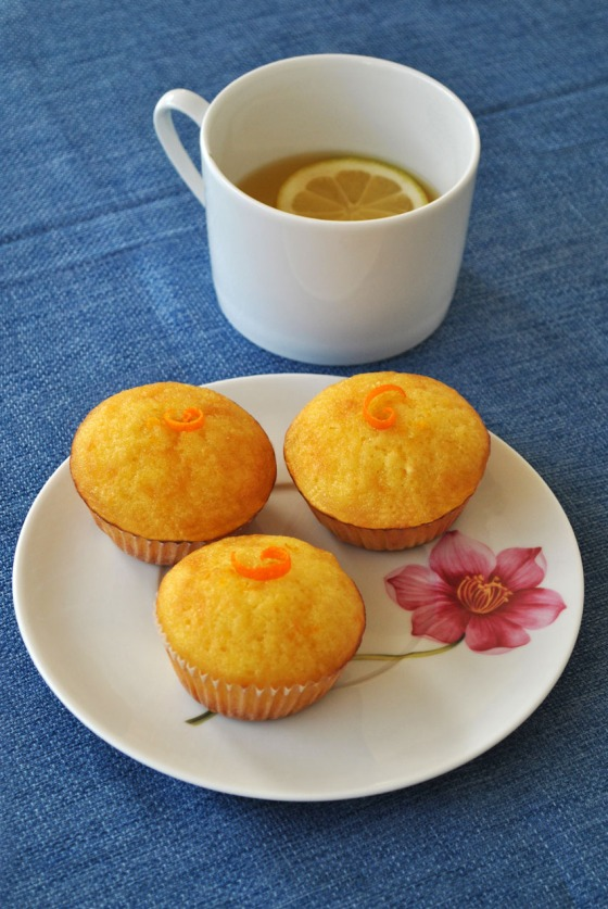 orange and lemon syrup cupcakes_4