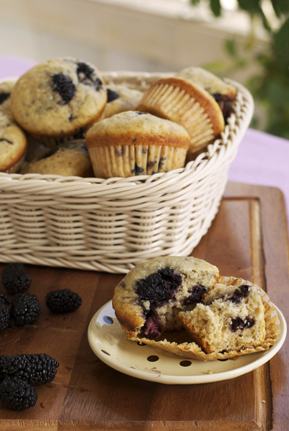 blackberry muffins 6